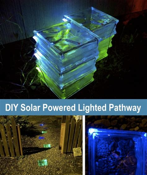 How To Make A Solar Powered Lighted Walkway Homestead How To Make Solar Powered Lights