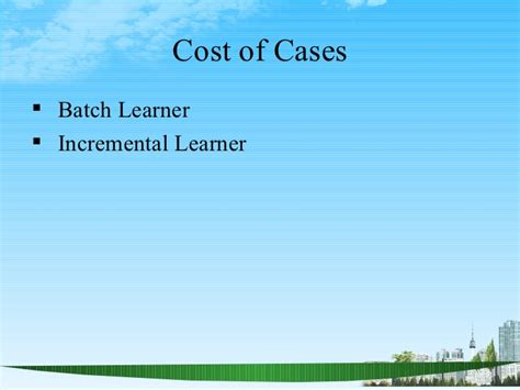 Of Albany Mba Human Resources Cost by Types Of Cost Ppt Mba 2009