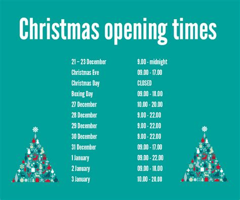 cineplex holiday hours christmas opening times fort kinnaird