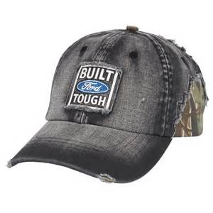 Camo Ford Hat Genuine Ford Built Ford Tough Herringbone And Camo