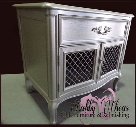 15 must see silver painted furniture pins silver paint spray paint furniture and chalk paint