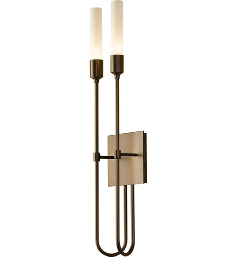 Hubbardton Forge Wall Sconces Hubbardton Forge Lisse 2 Light Wall Sconce Ls
