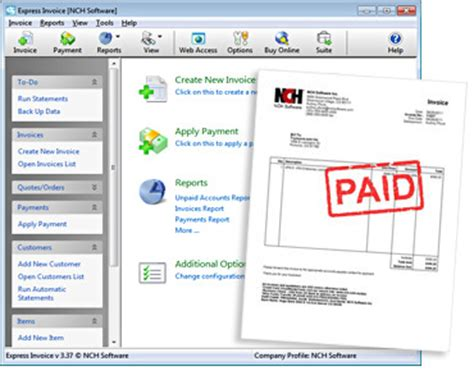 free invoicing software free to do list