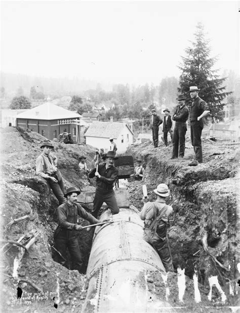 And The City In The Pipeline by Water System Cityarchives Seattle Gov