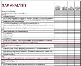 gap report template 40 gap analysis templates exles word excel pdf