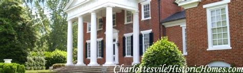 old houses for sale in va charlottesville virginia historic estates for sale