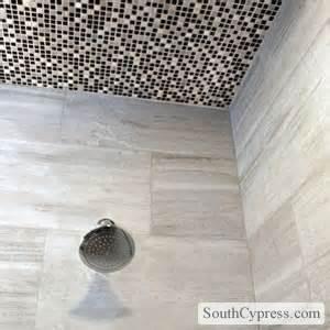 Tile Ceiling Shower by Shower Tile Ideas