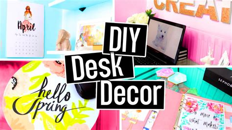 Diy Desk Decorations Diy Desk Decorations Diy Desk Decor Easy Inexpensive The It Diy Desk Decor Affordable Top