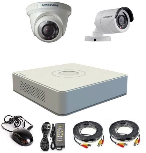 Hikvision 1 Mp Kamera Indoor Turbo Hd 720p 1mp Ds2ce56c0tirm T1310 1 buy hikvision turbo hd 2 megapixel 1080p 1 indoor and 1 outdoor with 4 channel dvr cctv