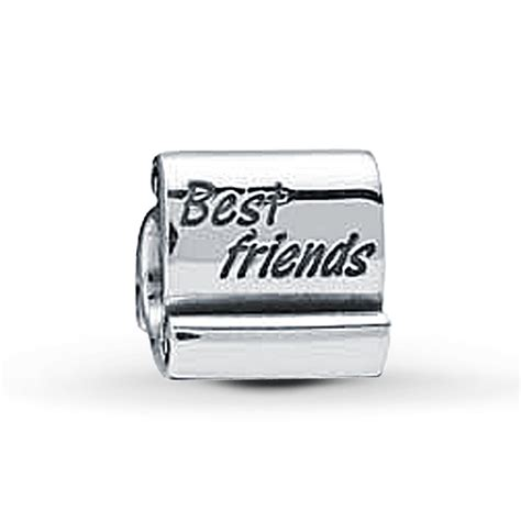 best friend pandora charm jared pandora charm best friends sterling silver