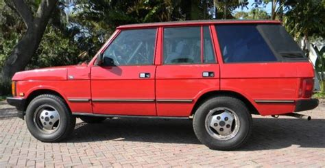 1988 range rover classic collector quality new 4 2l engine well sorted 1988 land rover range rover classic a c works excellent interior new tires for sale in