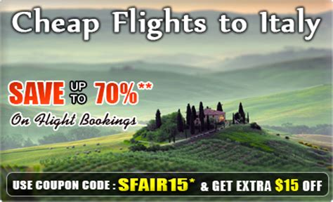 flights to italy get cheap flights to italy airfare