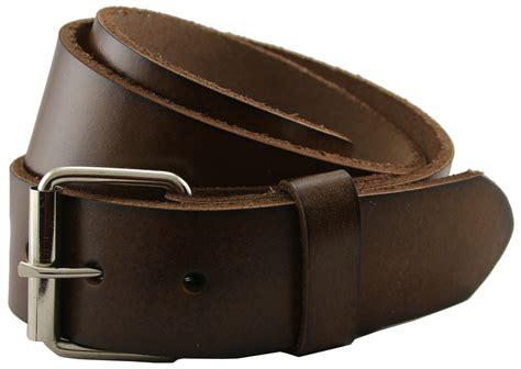 seris 100 leather cowhide roller belt brown 1 5 quot wide