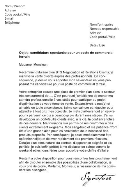 Exemple De Lettre Commerciale Prospection Lettre De Motivation Commercial Export Trilingue Car Interior Design