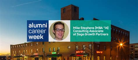 Ma In Government Mba Jhu by Alumni Career Week Mike Stephens Carey The Torch