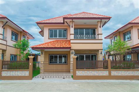 thai home design news colorful 2 story thai house with interior images pinoy