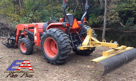 Landscape Root Rake Everything Attachments Landscape Rake Root Rake