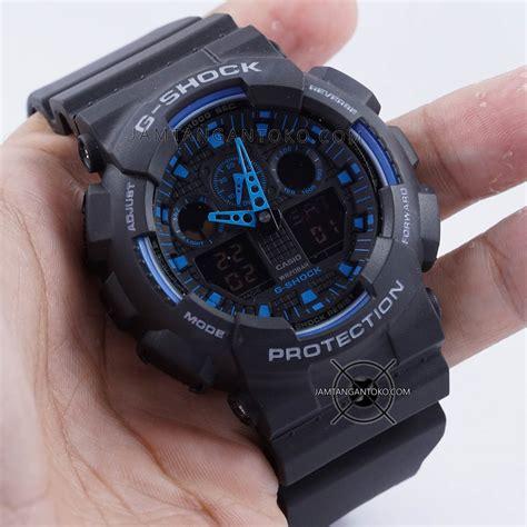 G Shock Ga400 Putih Biru gambar g shock ga100 1a2 hitam biru ori bm bagian sing