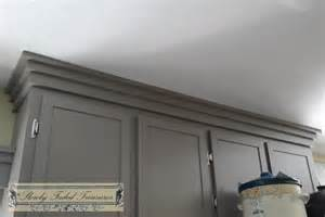 Mission Style Kitchen Cabinets creating craftsman style crown molding for kitchen remodel