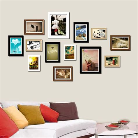 picture frame on wall wall collage picture frames furniture design ideas
