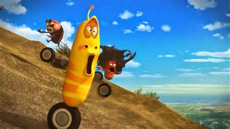 youtube film larva terbaru gambar cartoon tokoh larva ulat lucu unik kecoa coklat