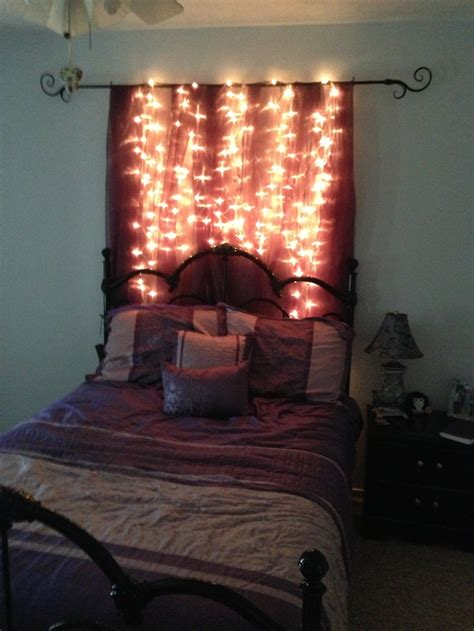 lighted headboard college