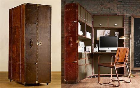 Steamer Trunk Desk Giant Vintage Steamer Trunk A Gorgeous Portable Office