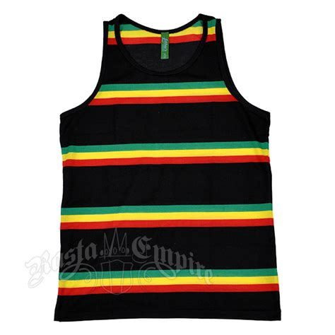jersey design reggae rasta reggae stripe tank top men s at rastaempire com