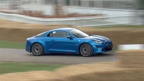 Speed Of Sound Alpine the alpine a110 makes its dynamic debut at goodwood