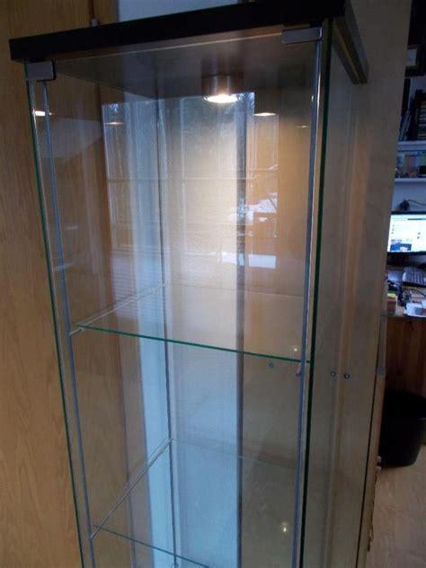 Detolf Display Cabinet Raising Detolf With Besta Ikea Hack Figures