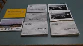 chevrolet impala owners manuals 2 2010 s 1 2014 for