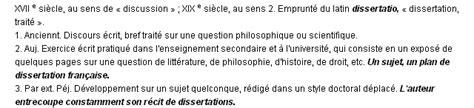 la dissertation definition dissertation la d 233 finition du terme quot dissertation quot