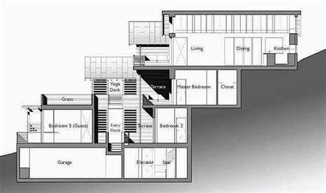hillside house plans ayanahouse