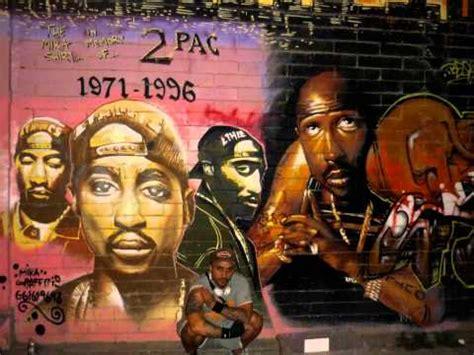 Tupac Wall Mural the mika king graffiti in memori by 2pac seville spain