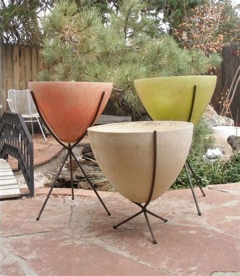 54 best mid century planters images on pinterest herb