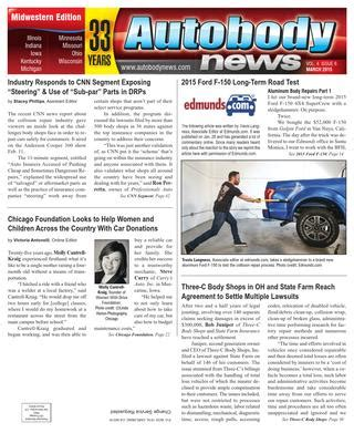 Midwestern March 2015 Issue by Autobody News   issuu