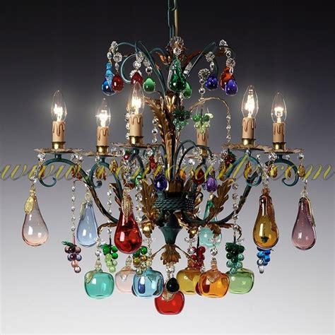 lustres de murano bacco lustre en verre de murano