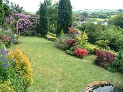 a garden view with seating area picture of holmdale b b exford tripadvisor