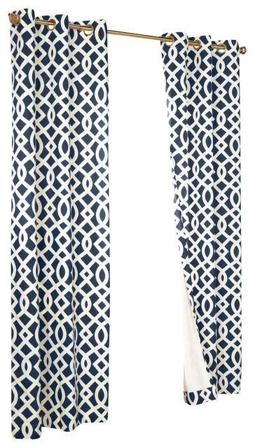 trellis print curtains trellis grommet top curtain panels contemporary