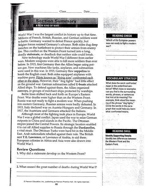 us history chapter 11 section 2 uncategorized pearson education inc worksheets