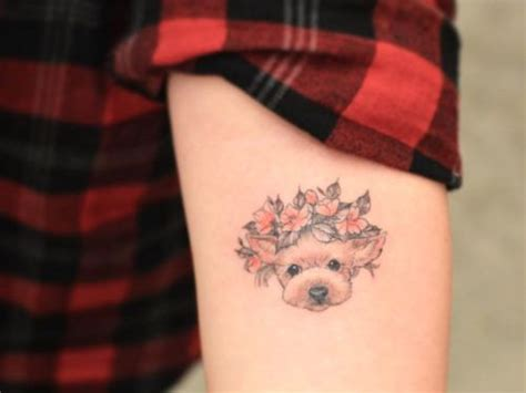 small dog tattoos 11 sweet and tattoos to show your pup your
