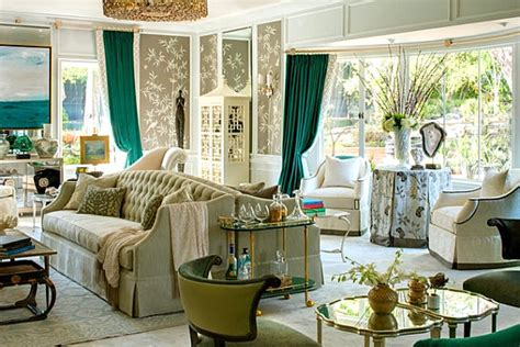 Green Curtains For Living Room by Shades Of Green For The Modern Home