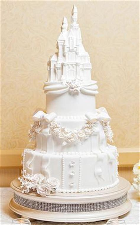Disney?s Sleeping Beauty Castle Wedding Cake ? Candy Cake