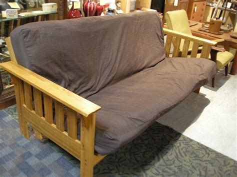 nice futon couches nice clean solid wood frame futon sofa bed i 60469