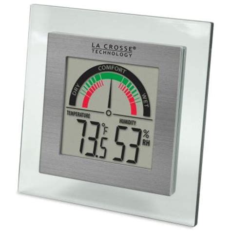 humidity scale comfort la crosse technology comfort meter with temp and humidity
