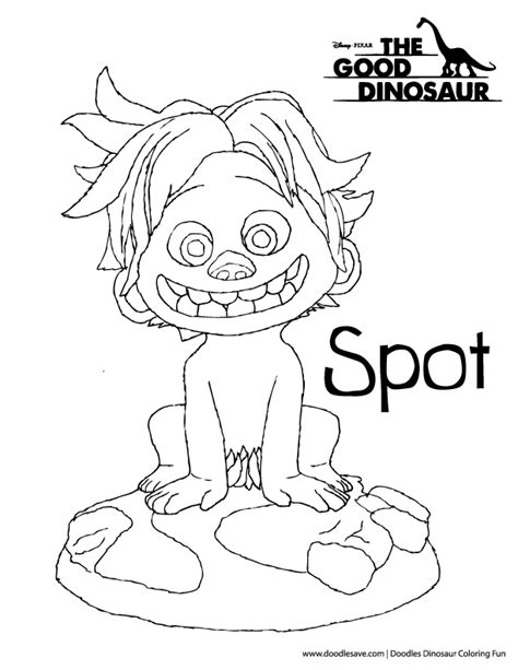 free coloring pages of spot