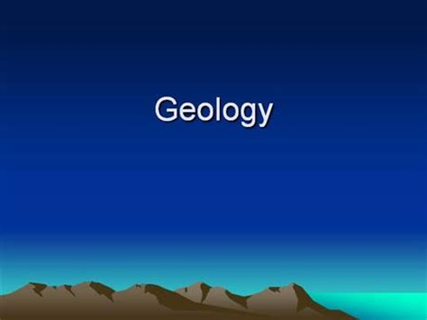 powerpoint themes geology geology authorstream