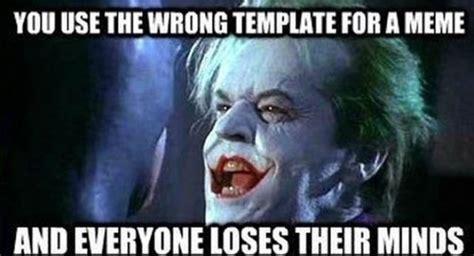 Batman Joker Meme - the gallery for gt joker smile comic