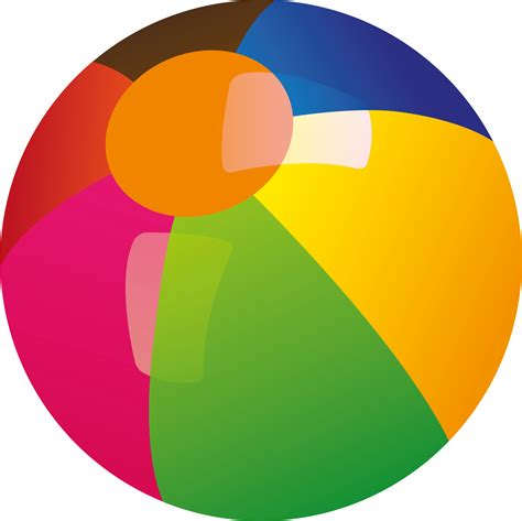 beach transparent beach ball png transparent free images png only