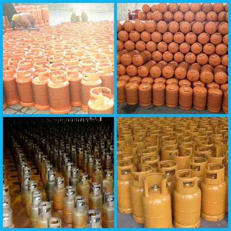 Filling Tulip 5kg new year style welded steel lpg gas cylinder 12 5kg